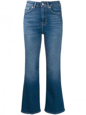 Укороченные джинсы Vintage 7 For All Mankind