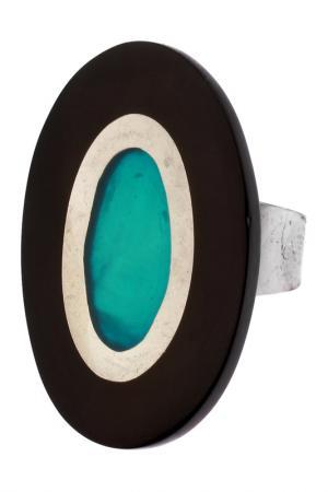 Кольцо Culture Mix. Цвет: синий, бирюзовый