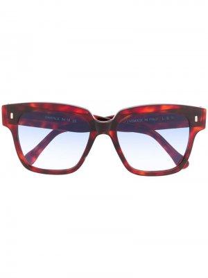 Солнцезащитные очки Dakhla в квадратной оправе L.G.R. Цвет: коричневый