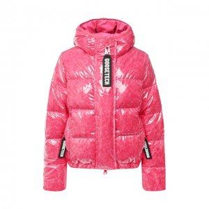 Пуховая куртка Goose Tech. Цвет: розовый