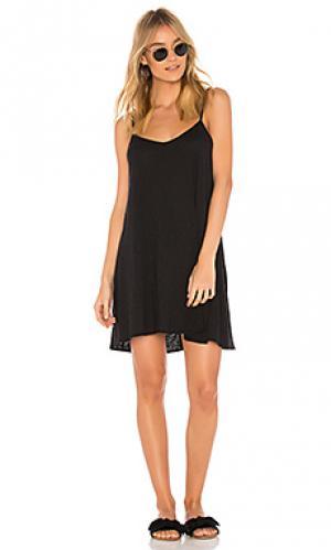 Мини платье paloma vitamin A. Цвет: черный