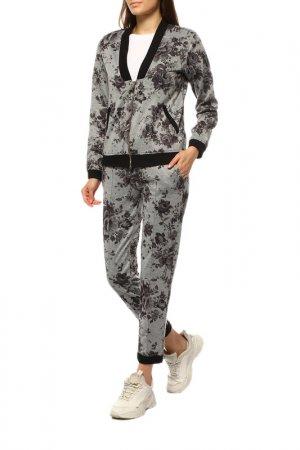 Куртка спортивная ANNA RACHELE JEANS. Цвет: серый