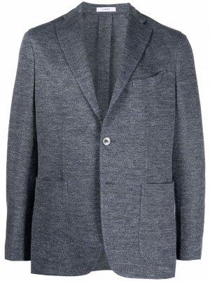 Пиджак на пуговицах Boglioli. Цвет: серый