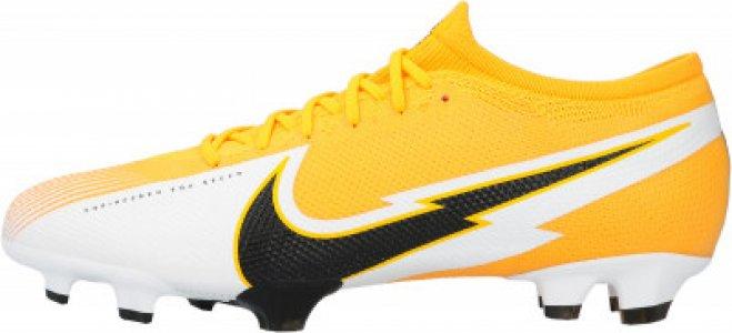 Бутсы мужские Vapor 13 Pro FG, размер 40 Nike. Цвет: оранжевый