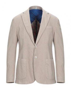 Пиджак DOMENICO TAGLIENTE. Цвет: песочный