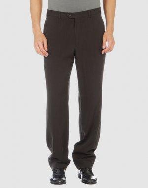 Классические брюки ARMANI COLLEZIONI. Цвет: стальной серый