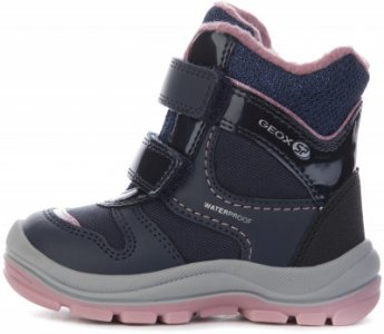Ботинки утепленные детские Trivor, размер 26 Geox. Цвет: синий