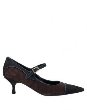 Туфли MARIA CRISTINA. Цвет: стальной серый