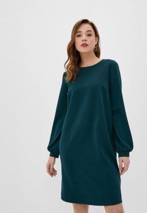 Платье BuduMamoy. Цвет: бирюзовый