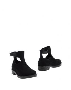 Полусапоги и высокие ботинки MELISSA. Цвет: черный