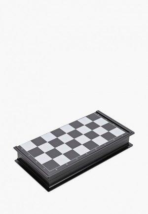 Игра настольная Рыжий Кот 3 в 1 пластик, на магните (нарды, шашки, шахматы), 25.5х12.5х5 см. Цвет: разноцветный