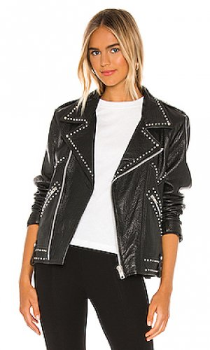 Куртка jackson Understated Leather. Цвет: черный