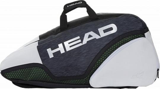Сумка Djokovic 9 Head. Цвет: синий