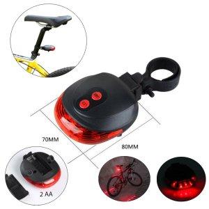 Фонарь-лазер велосипедный Мастер К