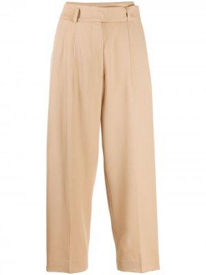 Укороченные брюки Hilary Petar Petrov. Цвет: нейтральные цвета