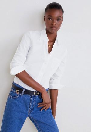 Рубашка Mango - STRECHI5-N. Цвет: белый