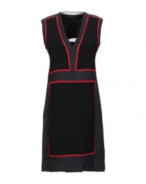 Короткое платье COSTUME NATIONAL. Цвет: черный