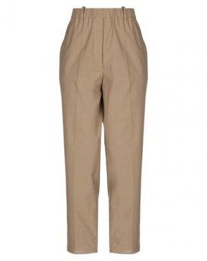 Повседневные брюки GOSSIP. Цвет: хаки