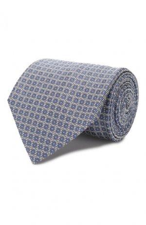 Шелковый галстук Brioni. Цвет: голубой