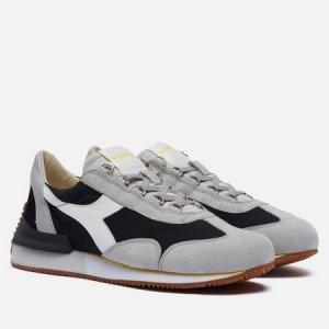 Мужские кроссовки Equipe Mad Italia Diadora Heritage. Цвет: чёрный