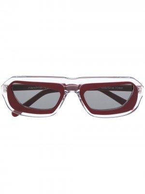 Солнцезащитные очки Martine Rose. Цвет: красный