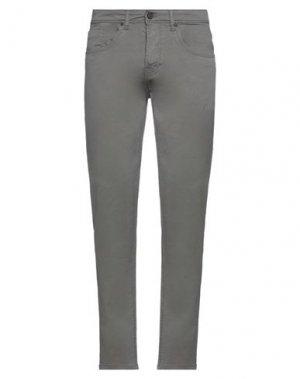 Повседневные брюки HAMAKI-HO. Цвет: зеленый-милитари