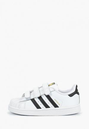 Кеды adidas Originals SUPERSTAR CF I. Цвет: белый