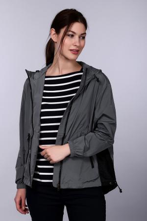 Куртка Just Valeri. Цвет: серый