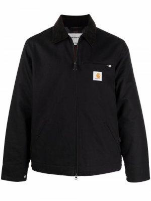 Куртка из органического хлопка с нашивкой-логотипом Carhartt WIP. Цвет: черный