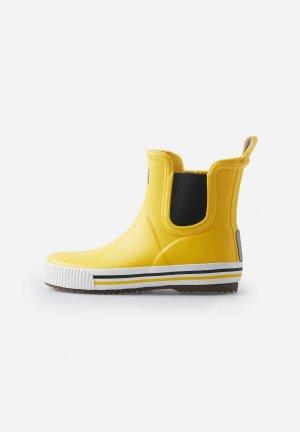 Резиновые сапоги Ankles Желтые Reima. Цвет: желтый