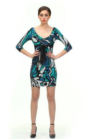 Платье LeVall. Цвет: цветной