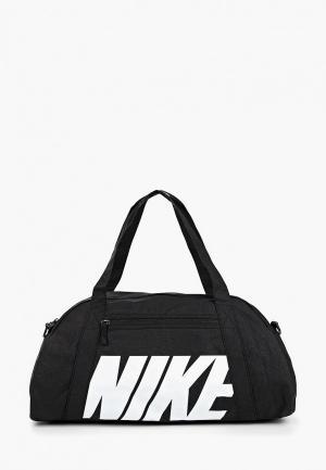 Сумка спортивная Nike WOMENS GYM CLUB TRAINING DUFFEL BAG. Цвет: черный