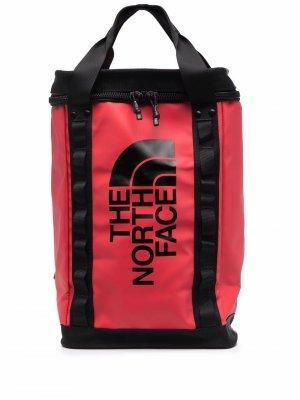 Рюкзак Fusebox в двух тонах The North Face. Цвет: красный