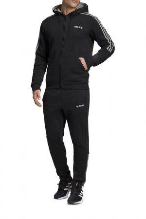 Костюм Adidas M FZ HO JOG 3S. Цвет: черный