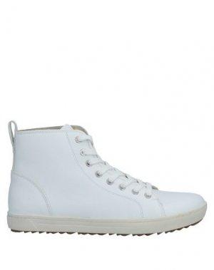 Высокие кеды и кроссовки BIRKENSTOCK. Цвет: белый