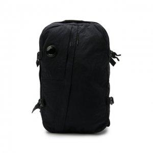 Текстильный рюкзак C.P. Company. Цвет: синий