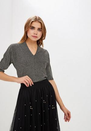 Пуловер Marks & Spencer. Цвет: золотой