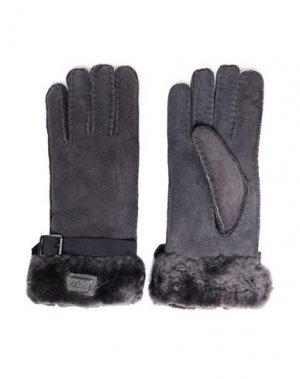 Перчатки AUSTRALIA LUXE COLLECTIVE. Цвет: темно-фиолетовый