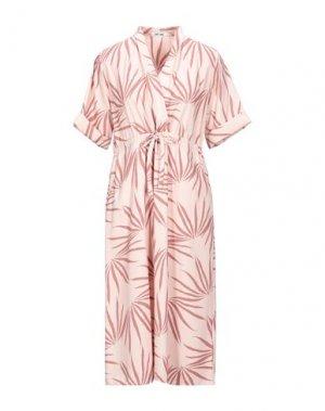 Платье миди DRY LAKE.. Цвет: розовый