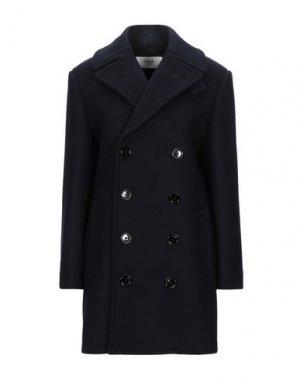 Пальто CELINE. Цвет: темно-синий