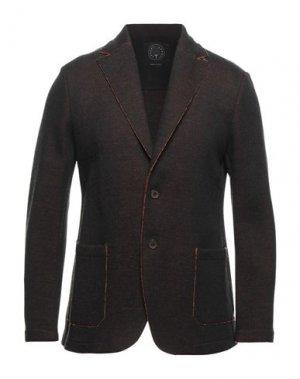 Пиджак T-JACKET by TONELLO. Цвет: темно-коричневый