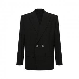 Пиджак Valentino. Цвет: чёрный