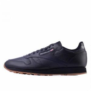 Leather Reebok Classic. Цвет: черный