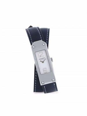 Наручные часы Kelly 2 pre-owned 41 мм 2000-х годов Hermès. Цвет: белый