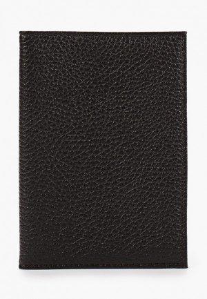 Обложка для паспорта Artio Nardini. Цвет: коричневый