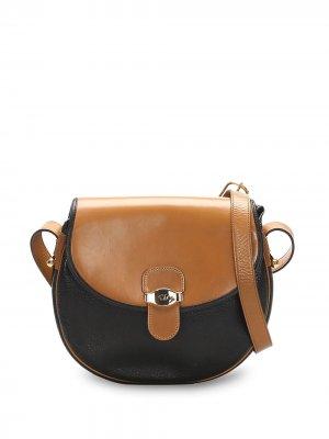 Сумка через плечо pre-owned с логотипом Christian Dior. Цвет: черный