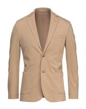 Пиджак CRUNA. Цвет: бежевый