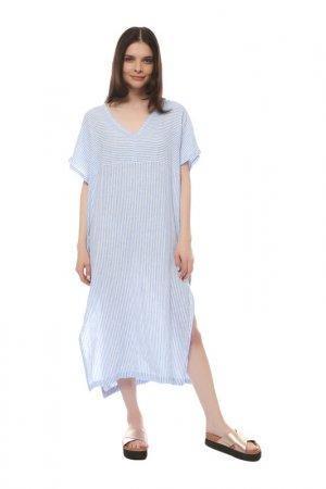 Платье Gant. Цвет: pacific blue