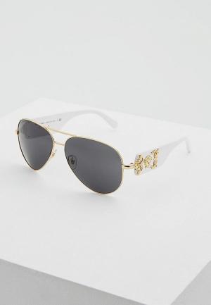 Очки солнцезащитные Versace VE2150Q 134187. Цвет: золотой