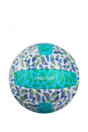 Мяч ONLITOP. Цвет: белый, зелены, синий